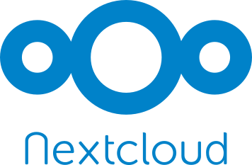 nextcloud logo white transparent