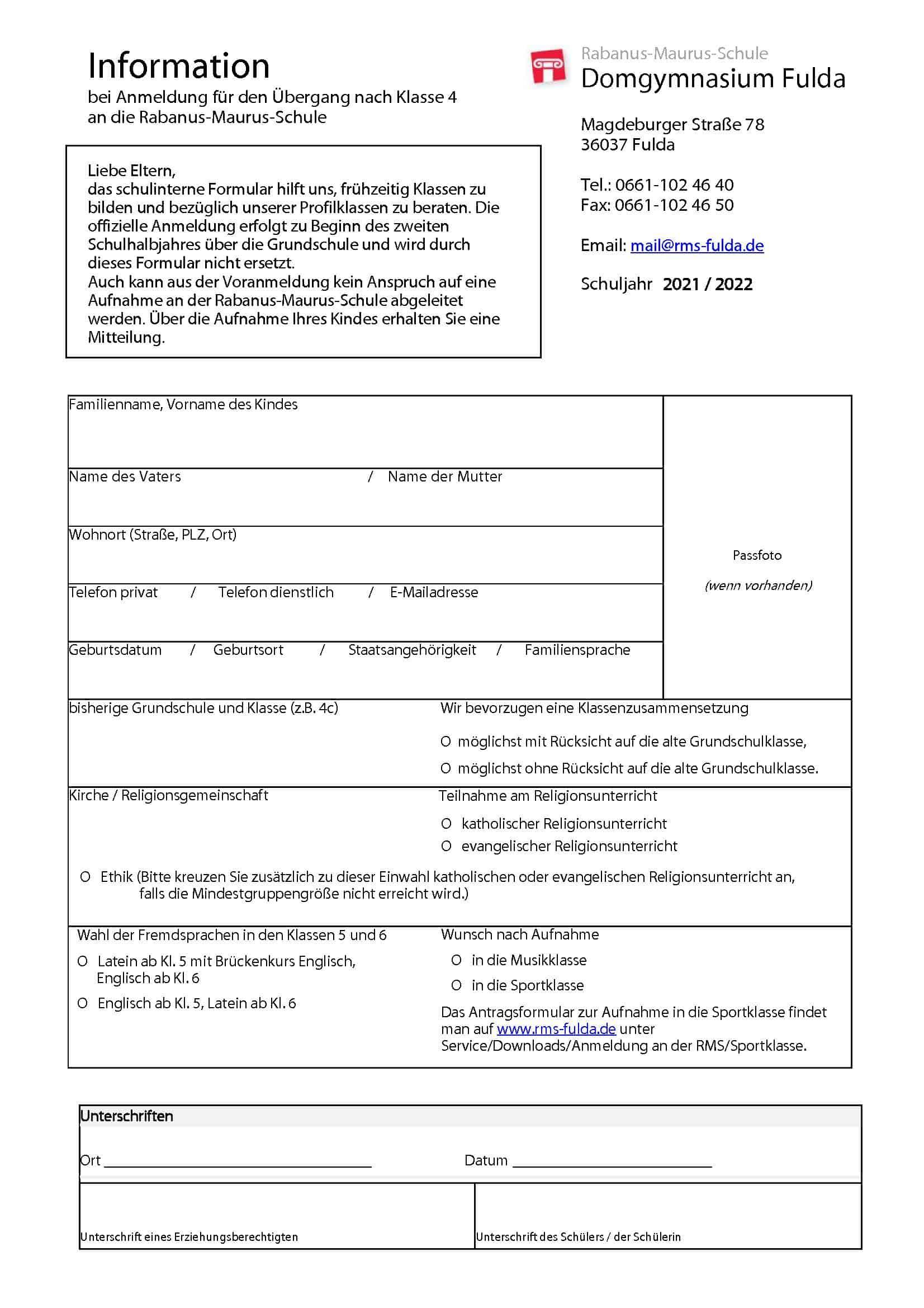 Anmeldeformular 5 2021 22 1